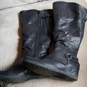 Wedge Baretraps Boots